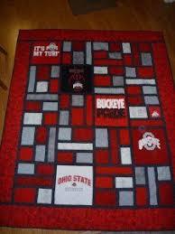 Ohio State Runner Rug Ohio State Quilt Pinteres