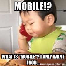 Baby On Phone Meme - asian baby on phone meme generator
