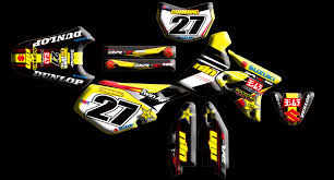 custom motocross jersey suzuki full kits nineonenine designs