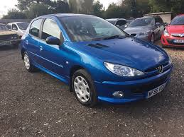 car peugeot 206 used peugeot 206 look 5 doors cars for sale motors co uk