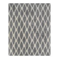 Black Grey And White Area Rugs Shop Allen Roth Barrbridge Grey White Indoor Area Rug Common 8