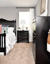 Ideas For A Bedroom Makeover - budget master bedroom makeover with black furniture