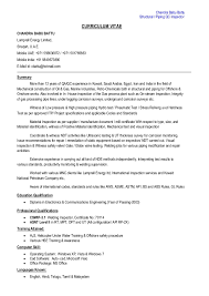 Qa Sample Resumes by Qc Manager Resume Pdf Contegri Com