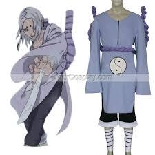 Sasuke Halloween Costumes Naruto Kimimaro Kaguya Cosplay Costume Naruto Cosplay Costumes