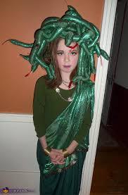 Green Halloween Costume Medusa Handmade Halloween Costume