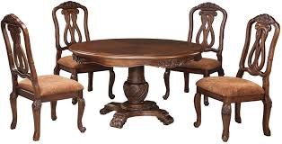 Ashley Furniture End Tables North Shore Round Pedestal Dining Room Set From Ashley Coleman