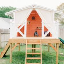 Backyard Playhouse Ideas Let Your In A Creative Backyard Playhouse Backyard