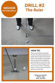 indoor putting drills drill 2 golftips golfhelp puttingtips