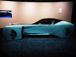 rolls royce vision 100 rolls royce brings its highly futuristic concept car to los angeles