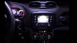 Interior Jeep Renegade Jeep Renegade Interior Led Light Night Appearance Youtube