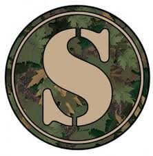 monogram letter s letter s camo monogram tumbler decal tumbler decals advanced