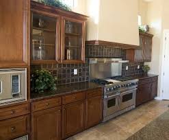Home Depot Kitchen Tile Backsplash Home Depot Kitchen Cabinetry With Tile Backsplash
