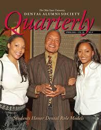 dental alumni society quarterly magazine fall 2006 by cherie