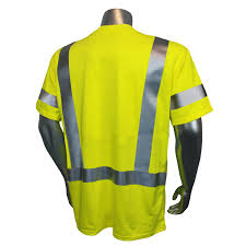 Construction High Visibility Clothing Radians Safety Fire Retardant Safety T Shirt