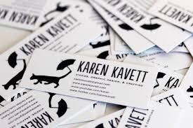 Youtube Business Card New Business Cards Karen Kavett
