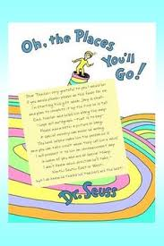 oh the places you ll go graduation gift oh the places you ll go graduation gift note to the teachers to