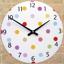 kids room clocks wall clock for interior design ideas style homes