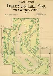 Gunpowder Falls State Park Map by Charles M Loring Minneapolis Park History
