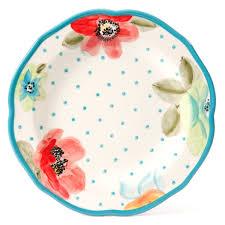 vintage thanksgiving dinnerware the pioneer woman vintage bloom 12 piece dinnerware set walmart