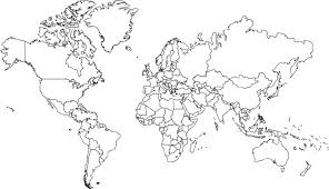 world map black and white with country names pdf world map mercator projection no borders in america for