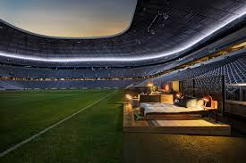 spend the night in one of europe u0027s most famous football stadiums
