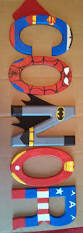 Superman Boys Room by Pretty Sure Liam Neefs These Handpainted 5 5 Tall Wood Letters By