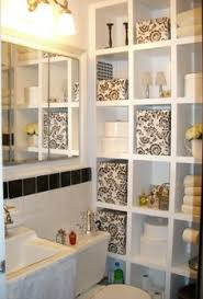 bathroom cabinet storage ideas oh my this does look add paper to the insside of cabinet