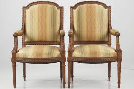 Antique French Armchairs Pair Of Antique French Chairs 19th Century Silla Fine Antiques