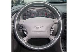 mustang steering wheels wheelskins premium leather steering wheel covers