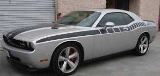 dodge challenger all models fasthemis cuda stripe kit dodge challenger 2008 2018 all models