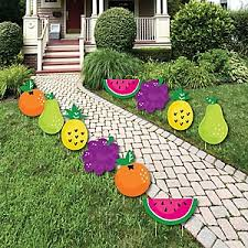 Fruit Decoration Ideas For Baby Shower Tutti Fruity Baby Shower Theme Bigdotofhappiness Com