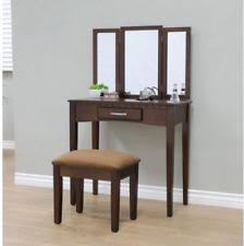 Folding Vanity Table Brown Vanities And Makeup Tables Ebay