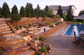 Pool Landscape Design by Pool Landscapes Minneapolis Mn High End Residential Landscaping