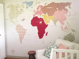 learn how to create and hang a custom wall mural hgtv s gold polka dots