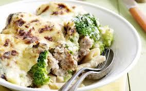 cuisiner les brocolis macaronis à la viande hachée et au brocoli cuisine et recettes