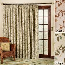 pinch pleat curtains for patio doors patio door curtains home design ideas