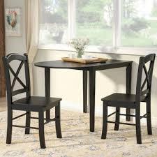 black dining room table set black kitchen dining room sets you ll wayfair