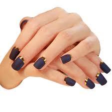 24pcs pack french nail tips matte sticker decorations false nails