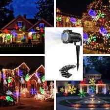 outdoor star projector christmas lights ebay
