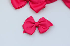 bows for hair basic hair bows your guide to sizes and uses of all our basic