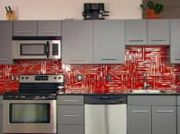 red tile backsplash kitchen how to creating a 3 d collage backsplash hgtv