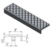 heavy duty cast aluminum stair tread custom lengths
