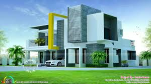 contemporary home with isometric interiors kerala home design