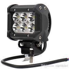 best construction work lights 18w 1620 lm spot driving fog light off road led light bar mounting