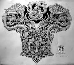 old viking warrior tattoo design photo 2 real photo pictures