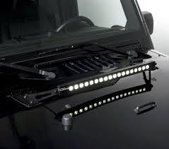 jeep jk hood led light bar rt off road rt28033 jeep wrangler jk 2007 2015 20 led light bar