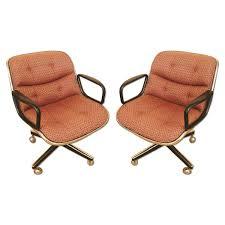 Restoration Hardware Swivel Chair Mid Century Modern Swivel Desk Chair By Charles Pollock Aptdeco