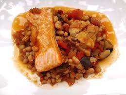 cuisiner haricots blancs recette du ragoût de haricots blancs aux poissons
