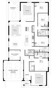 4 bedroom flat plan design ultra modern house plans floorplan