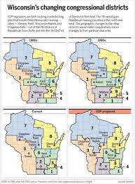 Janesville Wi Map Redistricting Pushes Boundaries To Help A Republican Congressman